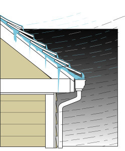 What Is Wind Driven Rain Knoxville Roofing Roofer