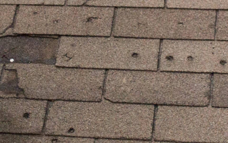 Knoxville Hail Roof Damage-2-2